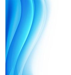 Tourqoise waves background folding vector