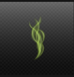 toxic or magical steam or smoke 3d vector image