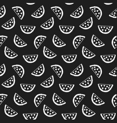 Watermelons seamless pattern vector