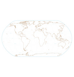 world map eps 10 vector image