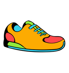 sneakers icon icon cartoon vector image