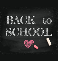 back to school 2020 vector image