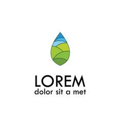 environment logo vector image