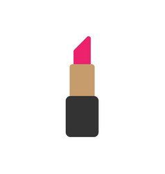 lipstick graphic design template isolated vector image