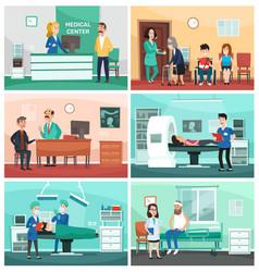 Medical hospital clinical care emergency nurse vector