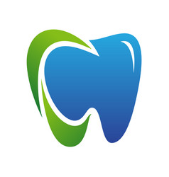 tooth for dental care icon symbol vector image