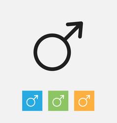 Trade symbol on woman vector