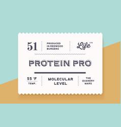 vintage minimal label set graphic modern vector image