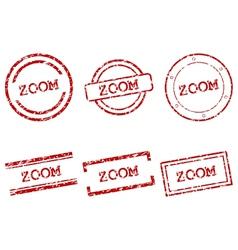 Zoom stamps vector