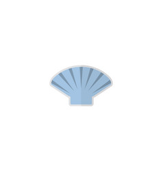 flat shell element of flat vector image