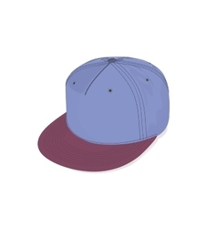 hats cap hip hop sport accessories vector image