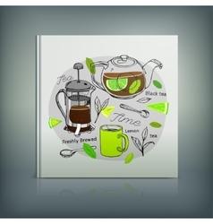 Tea Menu 04 A vector image