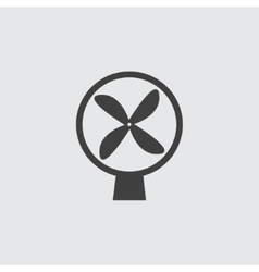 Fan icon vector image vector image