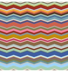 Retro seamless geometric background vector image vector image