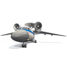 AWACS Aircraft vector image vector image