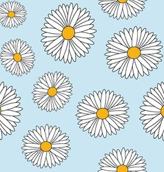 Daisy seamless vector
