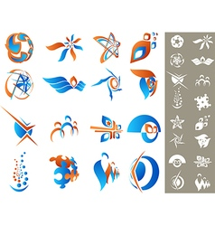 Design elements set 2 vector image