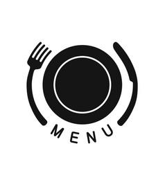 emblem for menu vector image