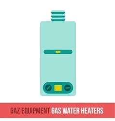 Flat icon gas equipment vector