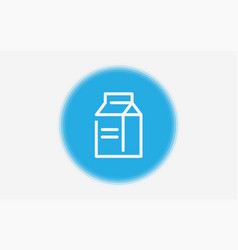 milk icon sign symbol vector image