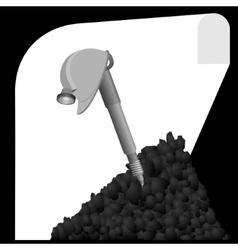 Mine-1 vector image