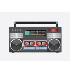 vintage radio tape vector image