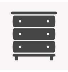 Cupboard icon Trendy Simple vector image vector image