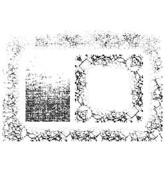 Frames set Halftone style vector image