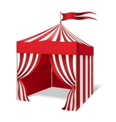 circus or carnival tent vector image