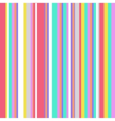 Striped Colorful Vintage Pattern vector image vector image