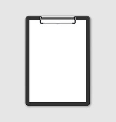 black clipboard vector image