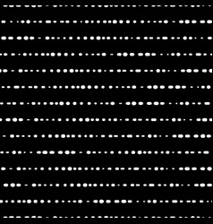 dotted horizontal lines seamless background vector image