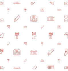Instrument icons pattern seamless white background vector