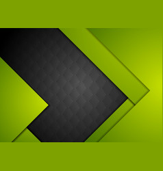green black material abstract background vector image vector image