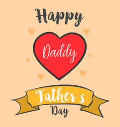 happy father day style card collection vector image vector image