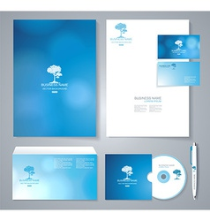 Template for Business artworks vector image vector image