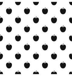 Apple pattern simple style vector image