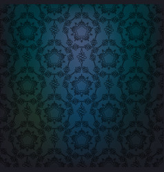 blue drama lace vector image