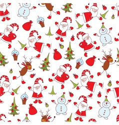 Christmas seamless 3 vector