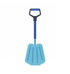 Emergency Snow Shovel vector