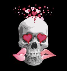 lovely valentine 01 vector image