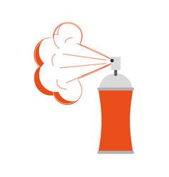 Spray paint bottle icon vector