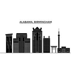 usa alabama birmingham architecture city vector image vector image