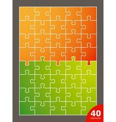 puzzle vector image vector image