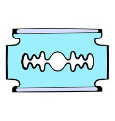 Razor blade icon icon cartoon vector