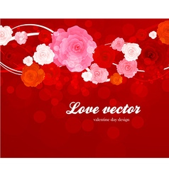 Romantic Floral vector image