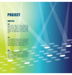 Background template with copy space vector image