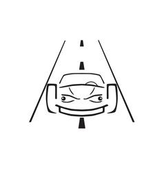 Car emblem vector