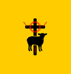 Christian symbols symbols jesus christ vector