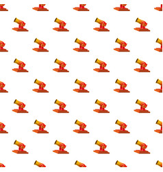 Circus cannon pattern vector